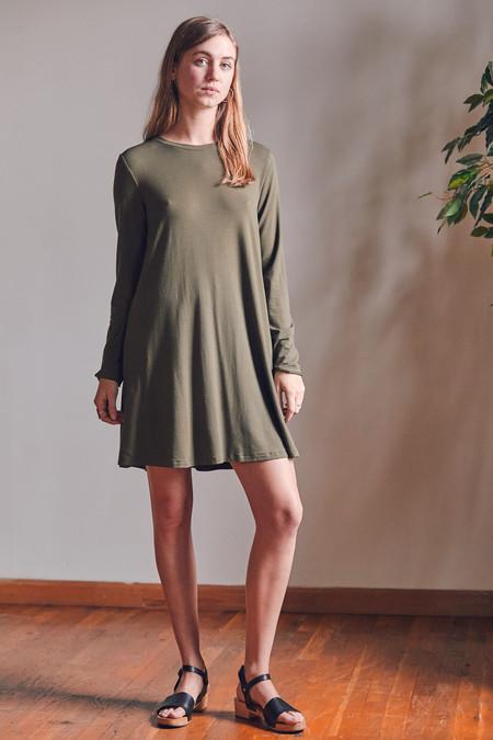 Sarah Liller Katie Dress in Cactus