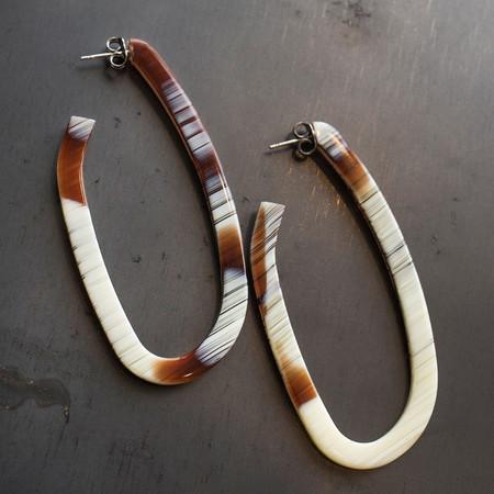 Rachel Comey Maya Earrings Striped