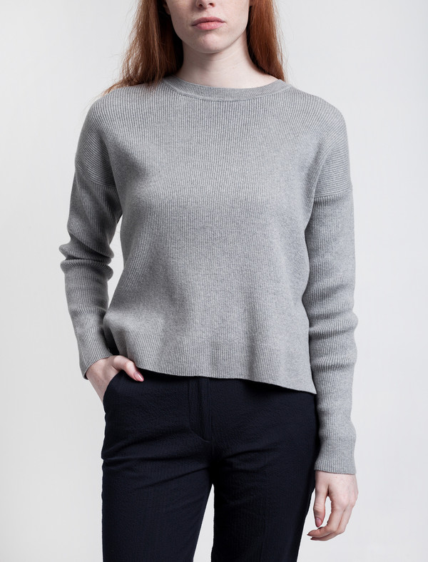 Crewneck Jumper Grey Melange