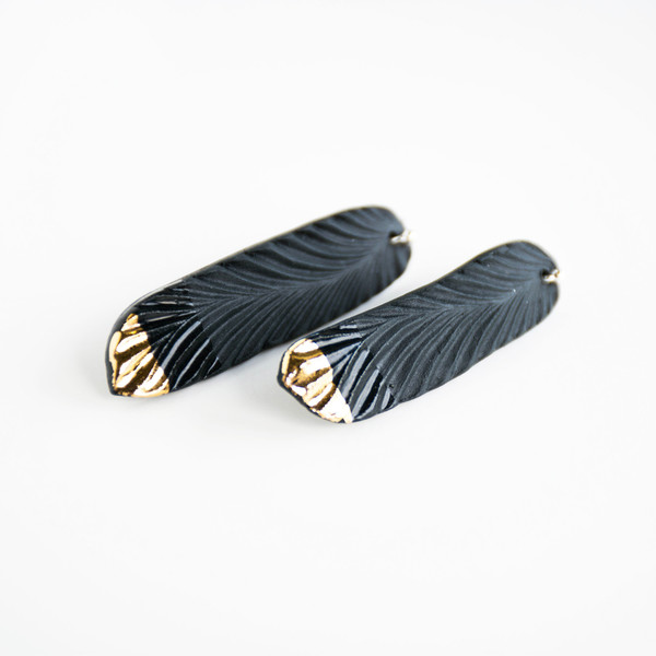 Heyday Design- Feather Earrings