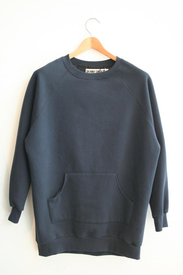 Skinny Sweats Short Sweater