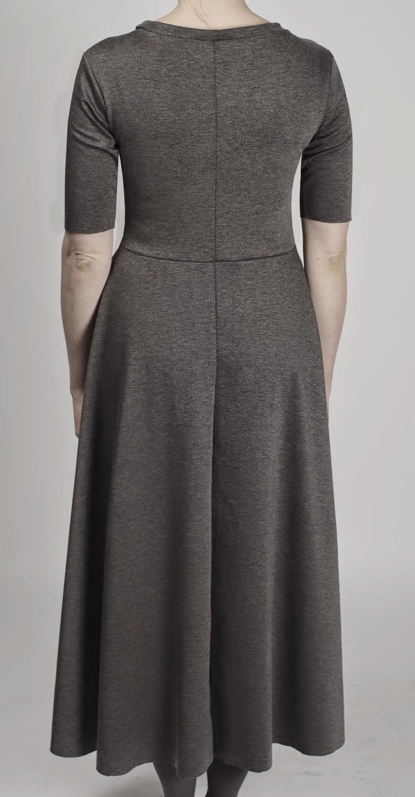 Brit Wacher knit circle dress