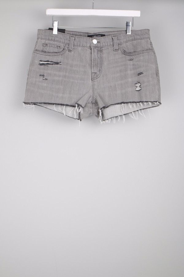 J Brand Low Rise Cut Off Shorts