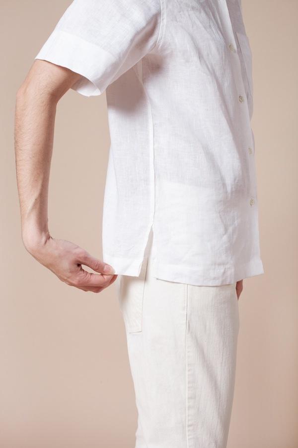 Demy Lee Clementine Linen Button Up