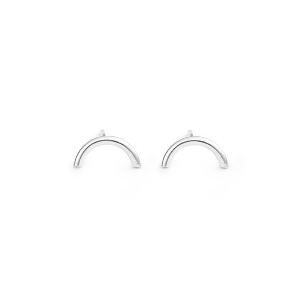 Free Series Half Moon Earrings