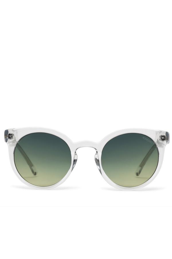 KOMONO Lulu Clear Sunglasses