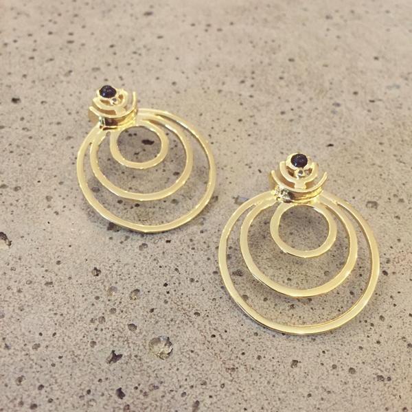 Gillian Steinhardt Dynasty Hoop Earrings
