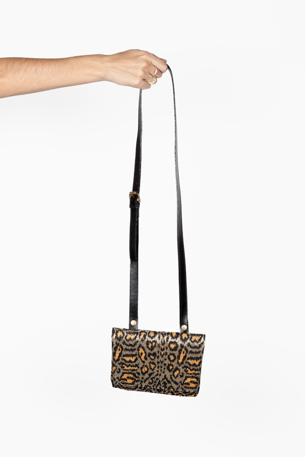 Rachel Comey Clu Cross Over Bag (Leopard)