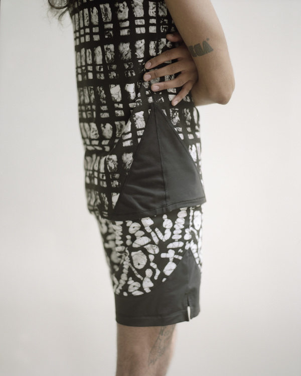Men's Osei-Duro x the lab Cassava Short | Pebble Print