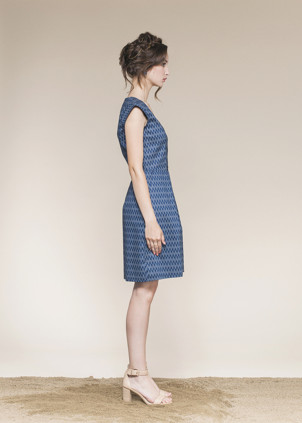 Gaspé Dress by Jennifer Glasgow