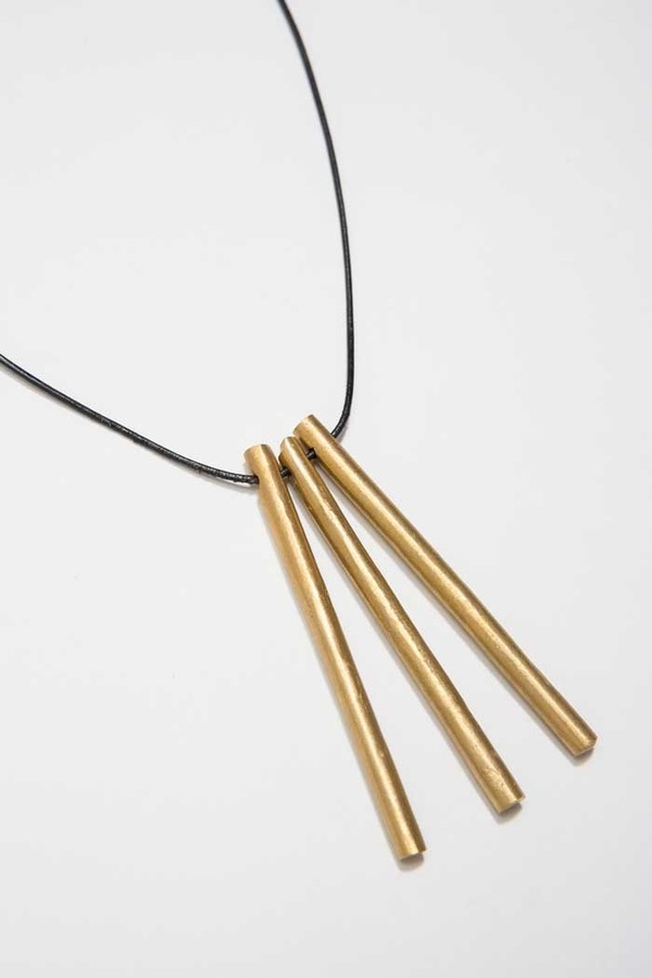 Osei-Duro Three Tubes Necklace