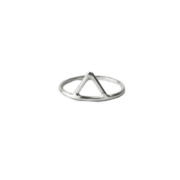 Still With You Triangle Ring