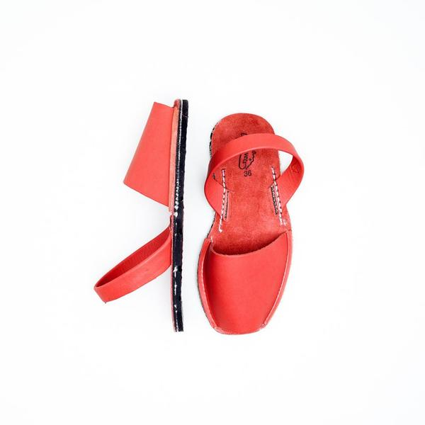 Riudavets Avarca Sandals - Red