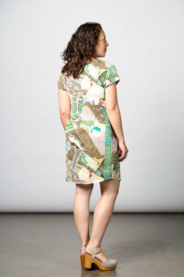 Gravel & Gold Gemini Dress