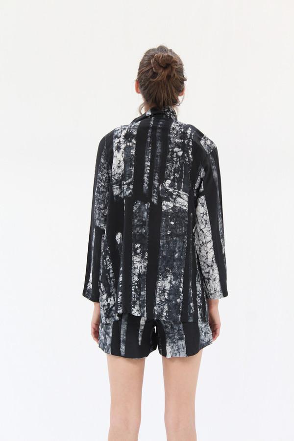 Osei-Duro Corium Blazer Black & White Parallel