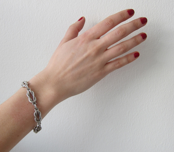 Vintage Collection Silver Knot Bracelet
