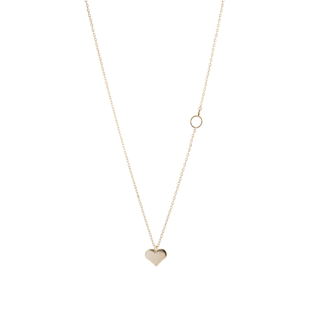 Lisbeth Heart Pendant Necklace
