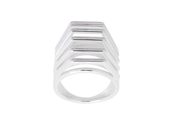 Shahla Karimi Honey Rotation Ring