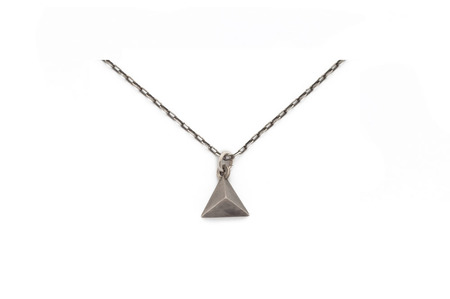 Psyche Pyramid Charm Necklace