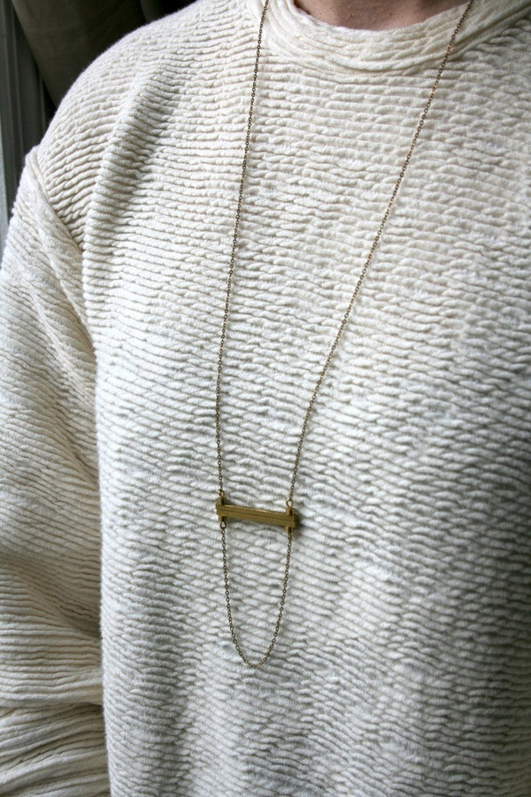 Laura Lombardi Ledge Necklace