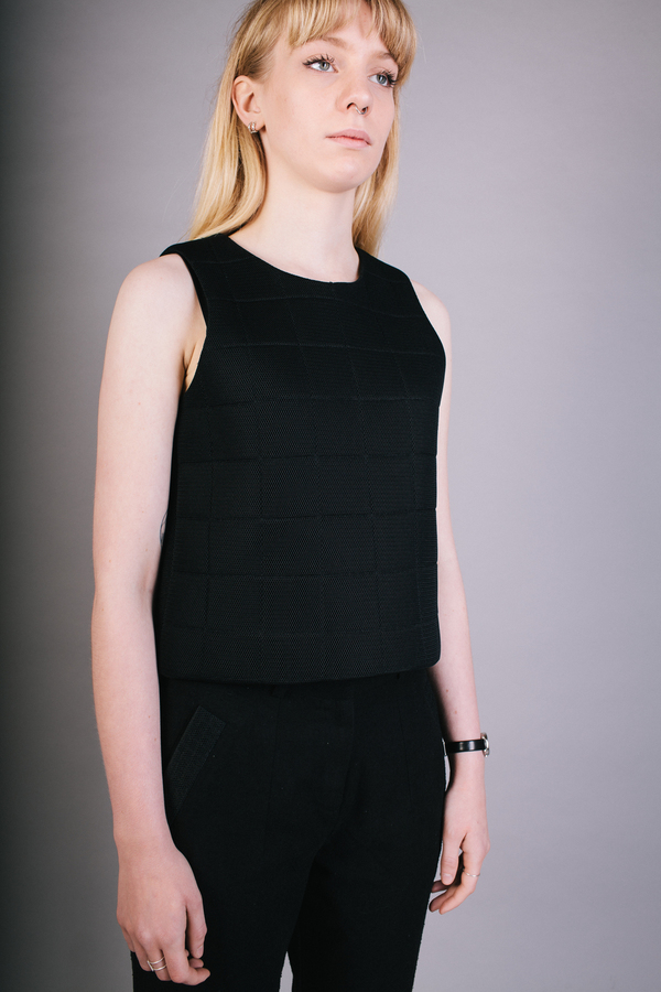Livia Arena Quilted Spacer Tank