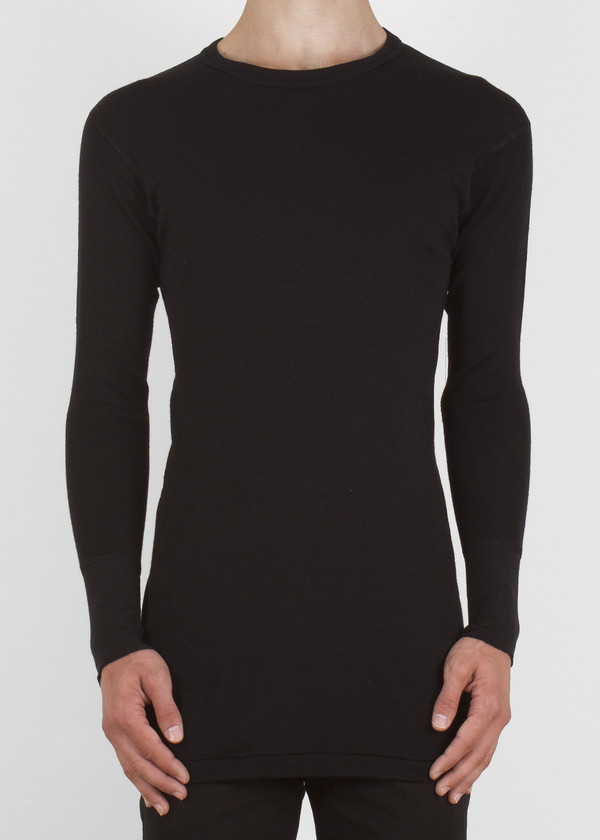 plank sweater - black
