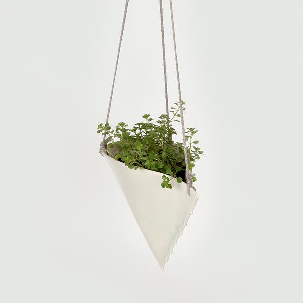 Taylor Ceramics mini hanging planter