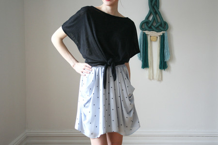 Eve Gravel Atlantic Skirt