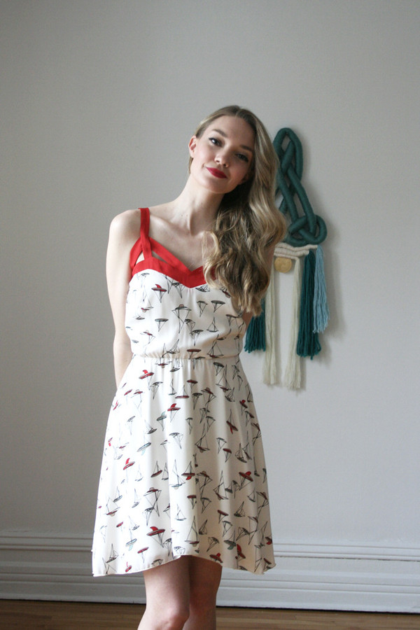 Eve Gravel Sea Of Love Dress