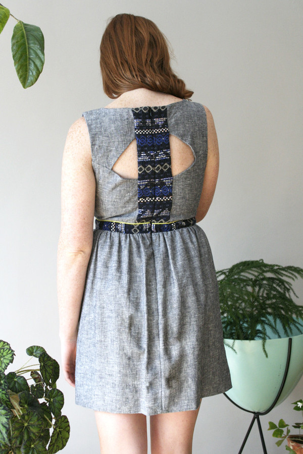 Eve Gravel Lemonade Dress
