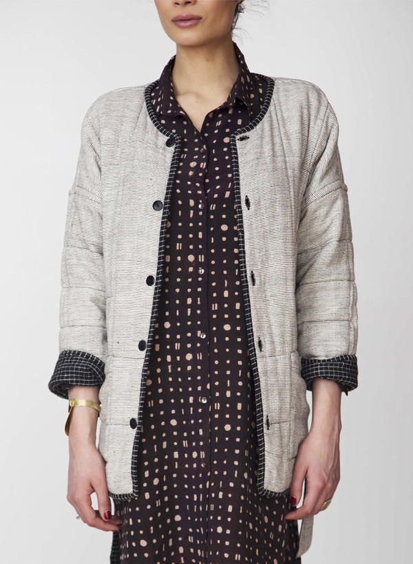 Seek Collective AM Quilted Coat | reversible