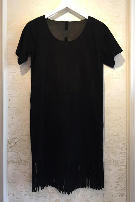 RtA Suede fringe dress
