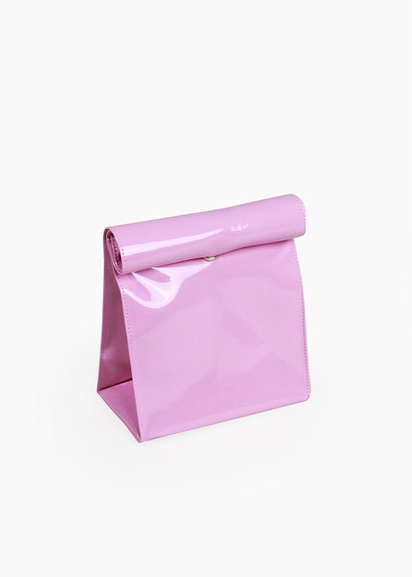 S M K Lady Pink Foldover Bag