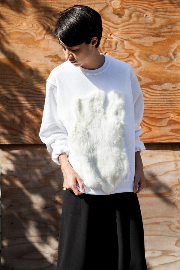 Assembly NY Fur Sweatshirt