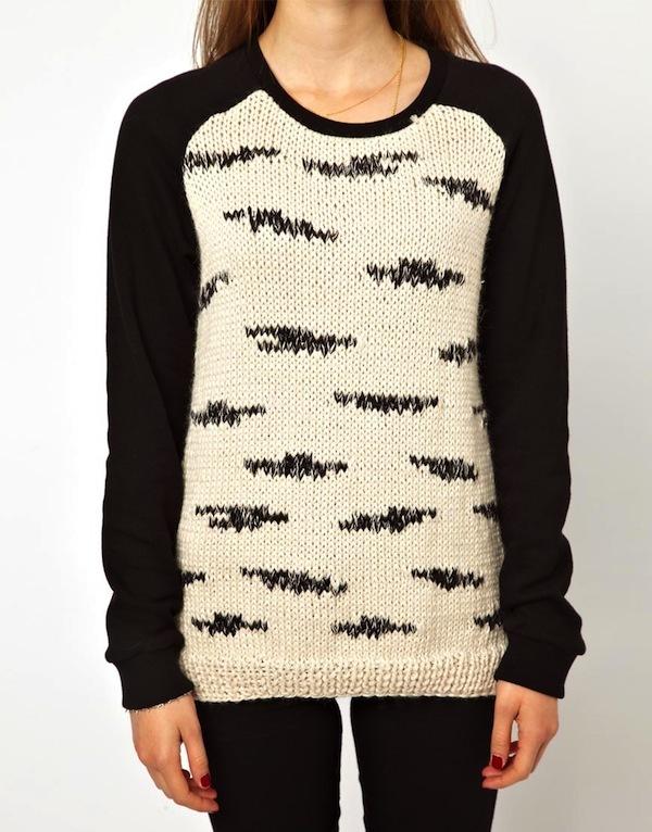 Raglan Knit Sweater