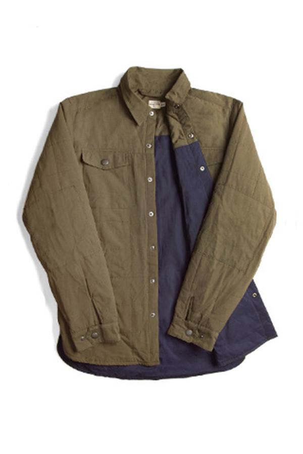 Palmer Olive Overshirt