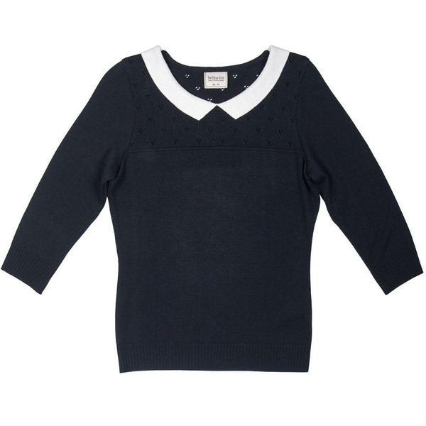 Betina Lou Agatha Sweater in Black