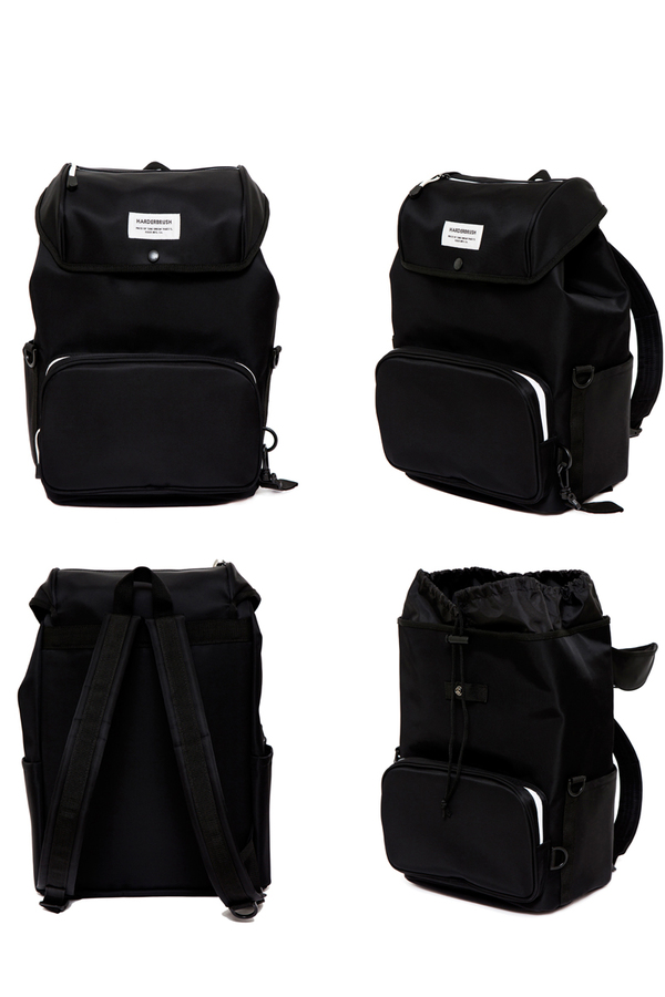 HARDERBRUSH Line Union Heavy-T BackPack | Black