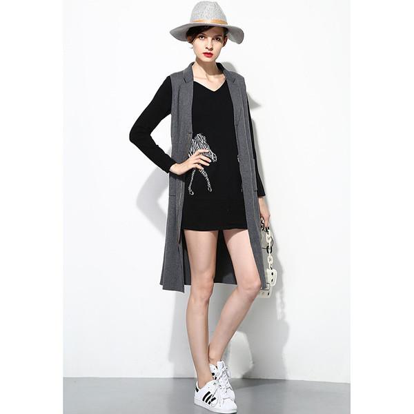 FEW MODA Cashmere Zip Waistcoat