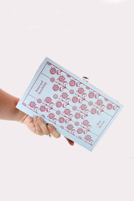 Chick Lit Designs Sense and Sensibility Book Clutch