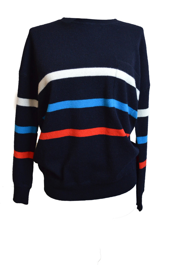 Demylee Addie Sweater | Navy