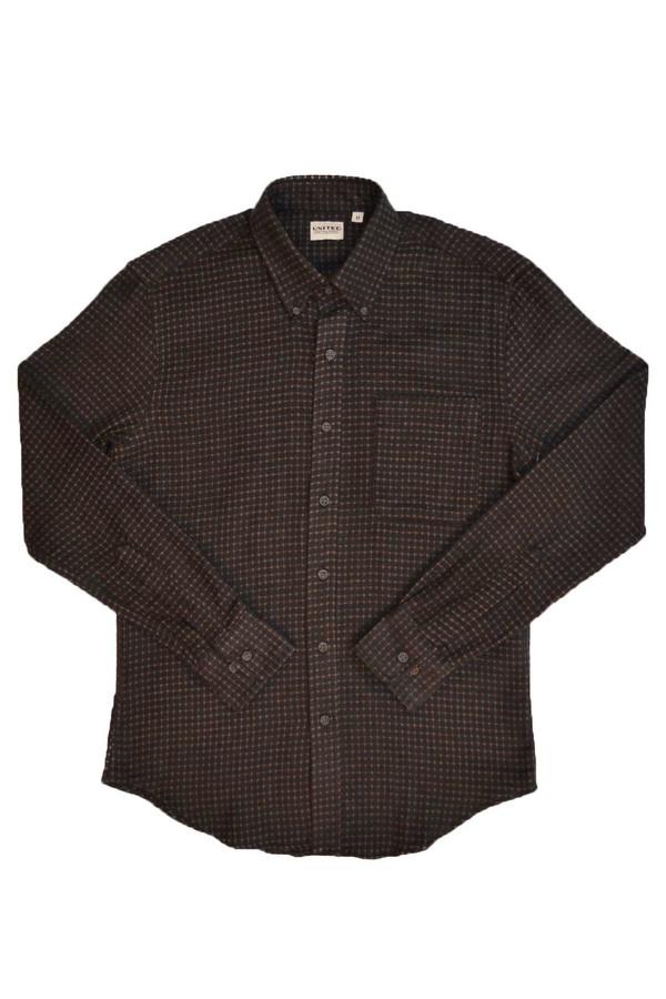 Men's United Stock Dry Goods Dobby Grid Shirt
