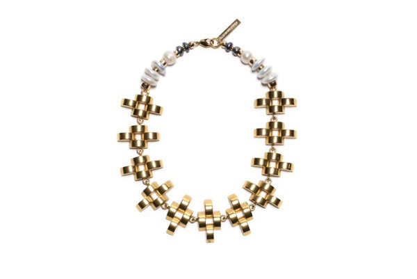 LIZZIE FORTUNATO ARENA NECKLACE