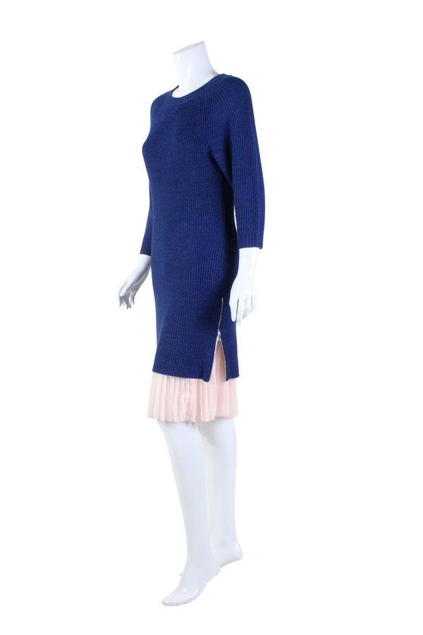 Cosette Cecilia Sweater Dress Royal Blue