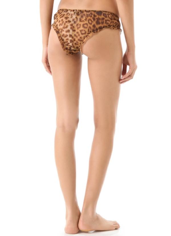 Silk Leopard Panty