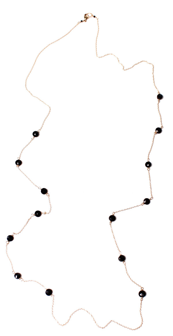 Spinel Wrap Necklace