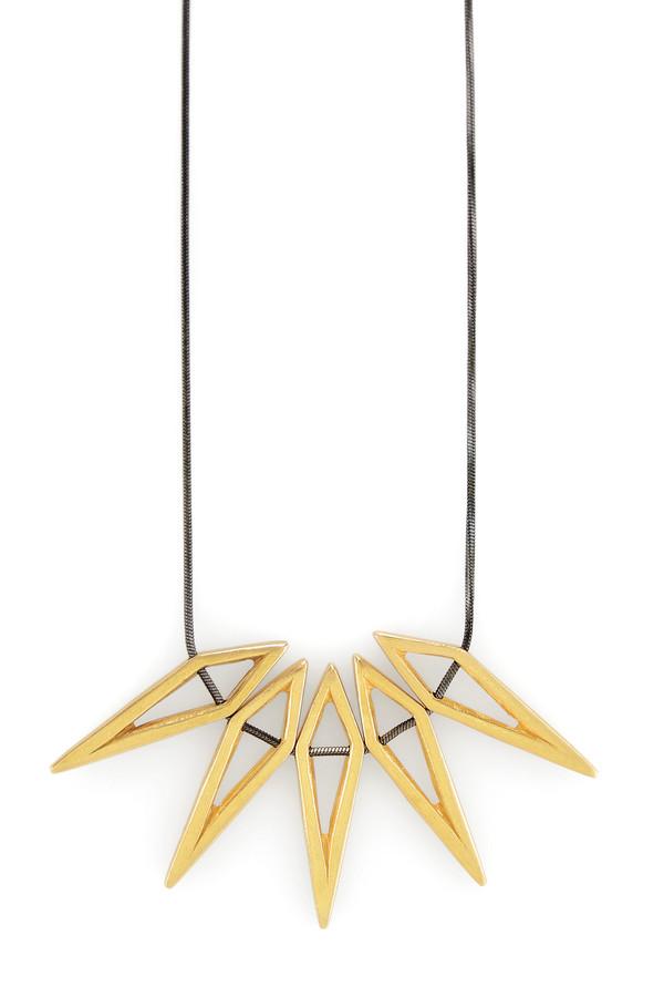 Five Diamond Necklace