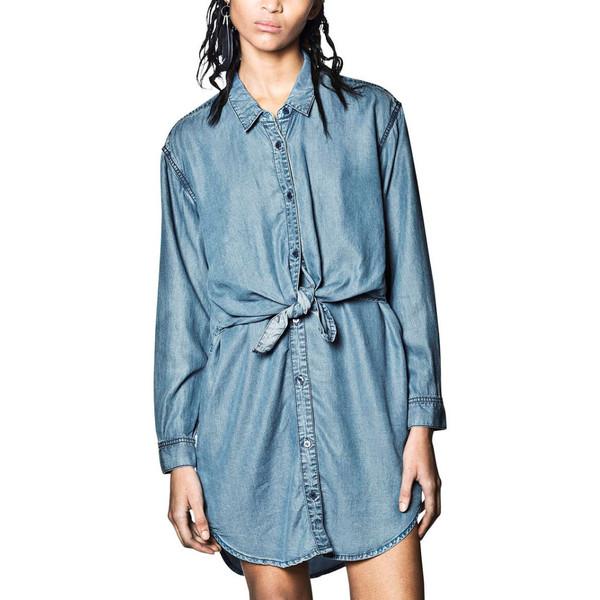 Cheap Monday Blue Shirt Dress