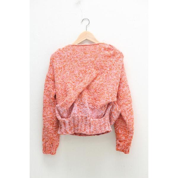 Anntian Handknit Balloon Sweater
