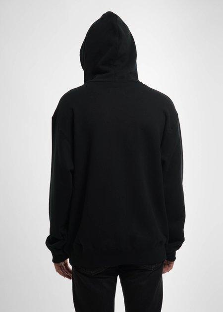 Doublet Black Deadstock Embroidery Hoodie